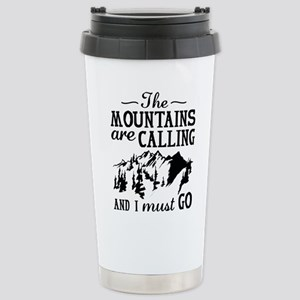 The Mountains Are Calling Mugs