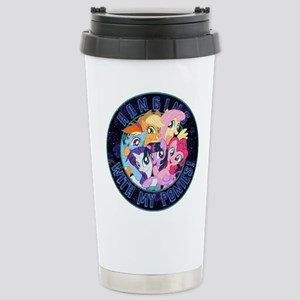 My Little Pony Ha 16 oz Stainless Steel Travel Mug