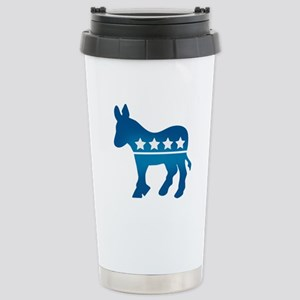 Democrats Donkey Stainless Steel Travel Mug