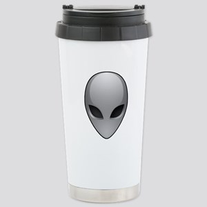 UFO Alien Stainless Steel Travel Mug