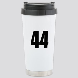 Barack Obama - 44 Stainless Steel Travel Mug