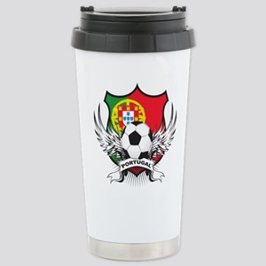 Portugal soccer Stainless Steel Travel Mug