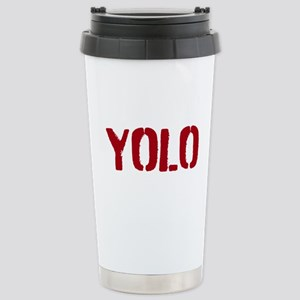 YOLO Stainless Steel Travel Mug