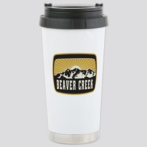 Beaver Creek Sunshine Patch Stainless Steel Travel