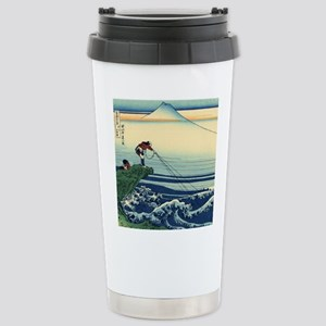 Kajikazawa by Hokusai Travel Mug