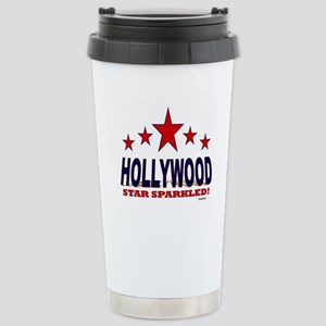 Hollywood Star Sparkled Stainless Steel Travel Mug