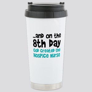 Hospice Nurse Creation Stainless Steel Travel Mug