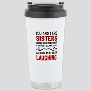Sisters Laughing Travel Mug