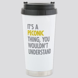 Its A Peconic Thing Stainless Steel Travel Mug