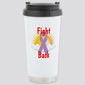 Fight Back Cancer Awareness Travel Mug