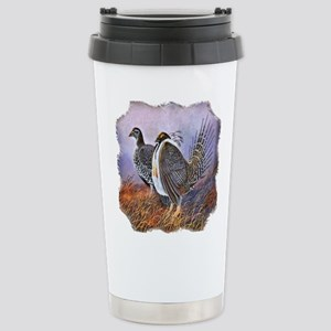 Sage Grouse Stainless Steel Travel Mug