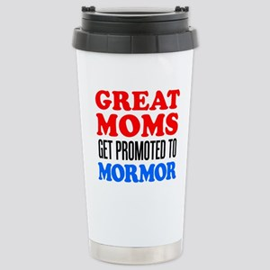 Promoted To Mormor Drinkware Travel Mug