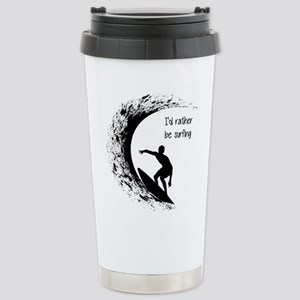 I'd Rather Be Surfing Travel Mug