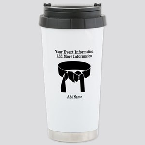 Martial Artist Stainless Steel Travel Mug