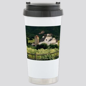 Park City Scene by LH Stainless Steel Travel Mug