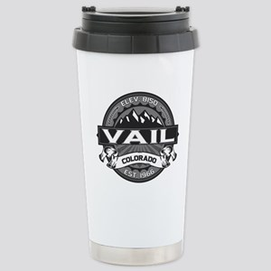 Vail Grey Stainless Steel Travel Mug