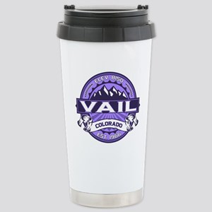 Vail Purple Stainless Steel Travel Mug
