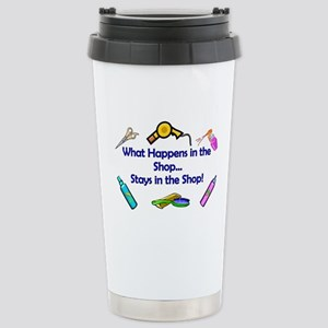 Beauty Shop Motto Stainless Steel Travel Mug