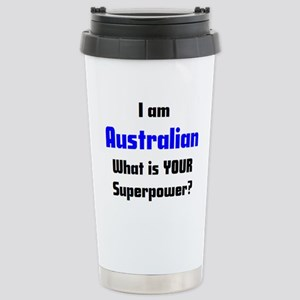 i am australian Stainless Steel Travel Mug