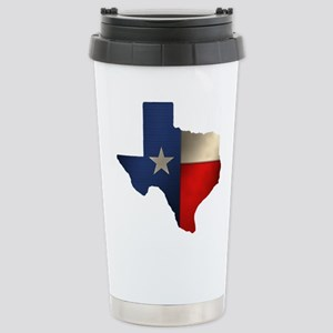 State of Texas Stainless Steel Travel Mug
