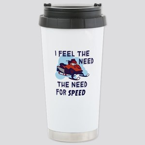 I Feel The Need The Need For Speed Travel Mug