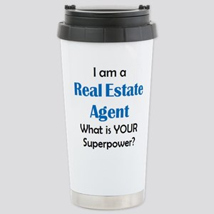 real estate agent 16 oz Stainless Steel Travel Mug