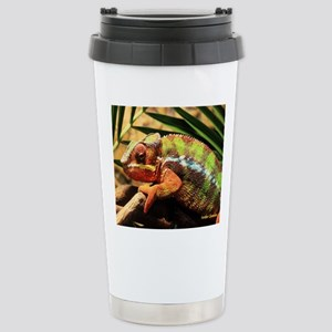 Panther Chameleon Mouse Stainless Steel Travel Mug
