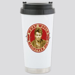 What Would MacGyver Do? Stainless Steel Travel Mug