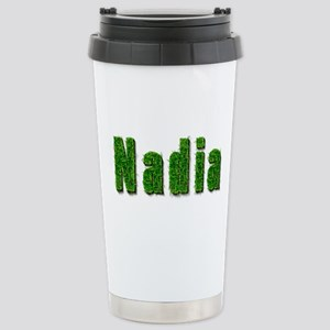 Nadia Grass Stainless Steel Travel Mug