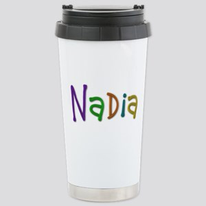 Nadia Play Clay Stainless Steel Travel Mug