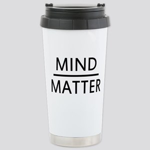 Mind Matter 16 oz Stainless Steel Travel Mug