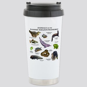 Animals of the Flooded Amazon Rainforest Stainless