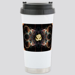 om poster Stainless Steel Travel Mug