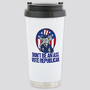Funny Republican Stainless Steel Travel Mug