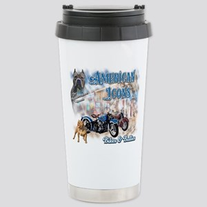 American Icons Bikes Bullies Travel Mug