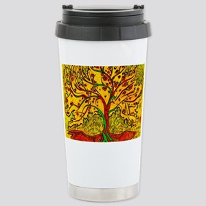 Tree of Life Stainless Steel Travel Mug