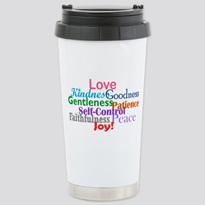 Fruit of the Spirit Stainless Steel Travel Mug