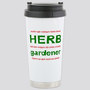 herb gardener Stainless Steel Travel Mug