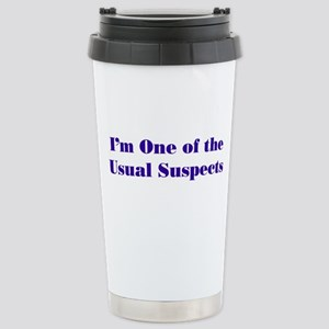 Usual Suspects 2 Stainless Steel Travel Mug
