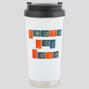 peacelovejoyflat Stainless Steel Travel Mug