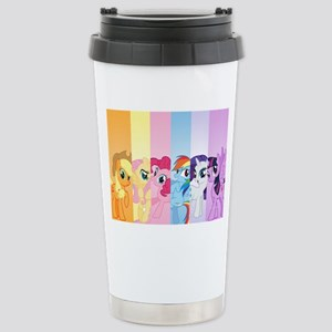 MLP Mane 6 16 oz Stainless Steel Travel Mug