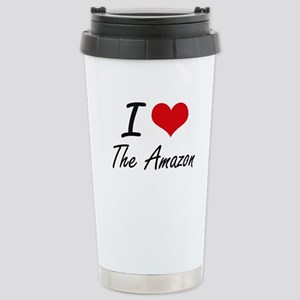 I love The Amazon Stainless Steel Travel Mug