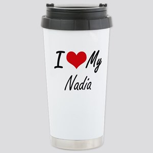 I love my Nadia Stainless Steel Travel Mug