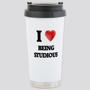 being studious Stainless Steel Travel Mug