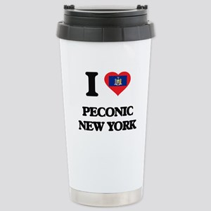 I love Peconic New York Stainless Steel Travel Mug