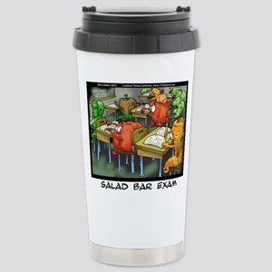 Salad Bar Exam Stainless Steel Travel Mug