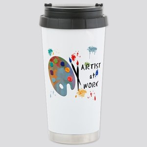 Artist At Work Stainless Steel Travel Mug