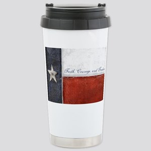 Texas Flag Stainless Steel Travel Mug