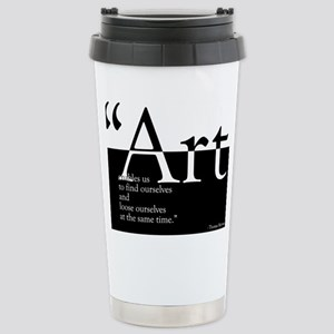 Art Stainless Steel Travel Mug