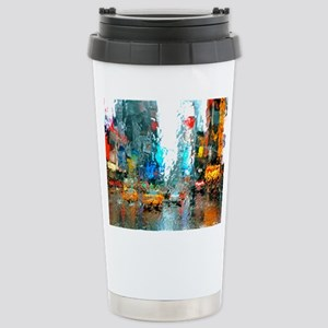 Times Sq. No. 7 Stainless Steel Travel Mug